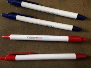 pennen met logo